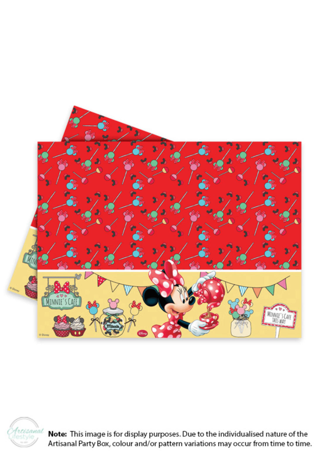 Minnie Mouse Plastic Table Cover  sc 1 st  Artisanal Lifestyle & Minnie Mouse Plastic Table Cover \u2013 Artisanal Lifestyle