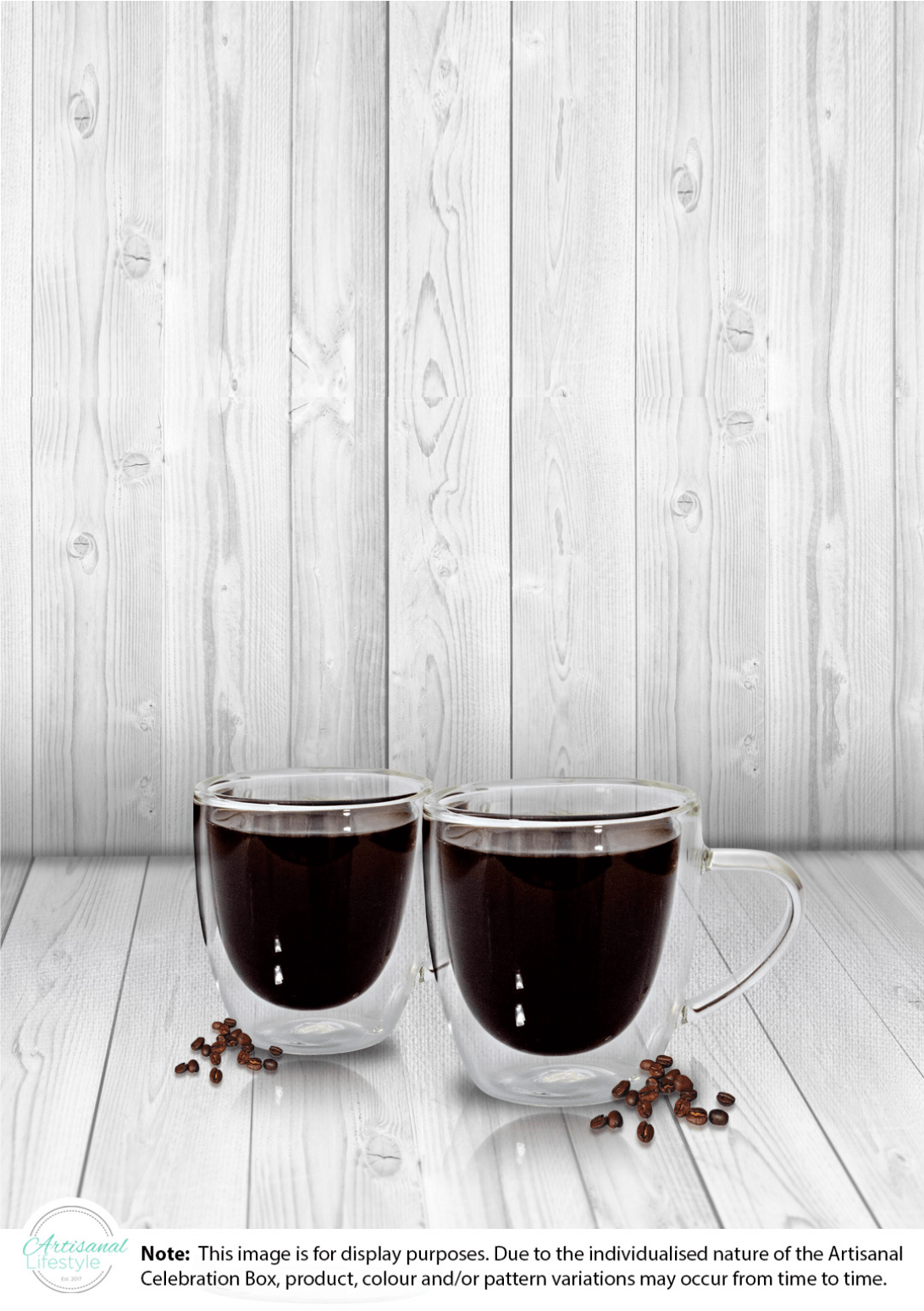 Double Wall Espresso Cups – 80ml – Artisanal Lifestyle
